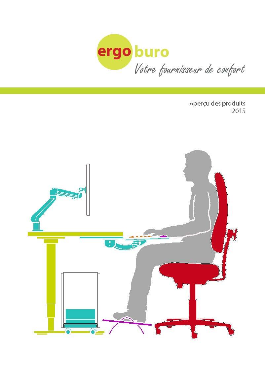 Ergoburo catalogue accessoires ergonomiques